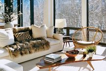 Winter Lodge / Be inspired to create your own little get away lodge style