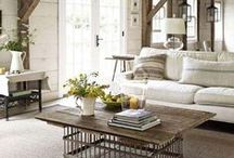 The Rustic Way of Life / Feel comfy, cozy, and at home with this back to the basics farmstyle living / by Charleston Forge
