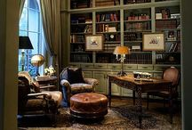 The Sophisticated Study / Every home needs a little sophistication and space to get some work and thinking done. Explore and be inspired to make your own home office area / by Charleston Forge