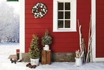 A Farmhouse Christmas / Nothing like Christmas on the farm. Bringing back to life the classic and traditional feel of Christmas