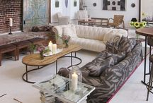 The Bohemian Home / Step inside to be inspired by eclectic yet traditional pieces, some vibrantly rich in colors, others are worn and washed away for that ultimate bohemian style