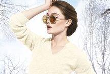 """White Wednesday #Bompardcolor / Un board inspiré par notre couleur """"Naturel"""". Comme nous, Laissez-vous inspirer par la couleur et jouez à notre jeu Instagram #Bompardcolor du 21 au 28 janvier 2015 pour tenter de gagner de jolies et colorées créations en cachemire Eric Bompard."""
