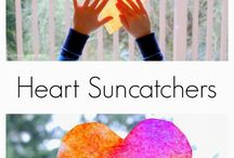 Kids Valentines / Easy DIY valentine projects and recipes to do with kids.