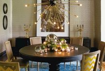 Elegant Dining / Dining Rooms that embrace all things elegant for a timeless evening in the comfort of your home