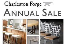 CF Annual Sale / More than 35,000 square feet of product for sale at our Annual Warehouse Sale.   •Brand new items   •Market Samples   •Prototypes  •Dining Tables •Occasional Tables    •Leather and Fabric Recliners   •Beds   •Benches  •Barstools  •Many One of a Kind items   •Mirrors   •Rugs   •and MUCH more!  Friday May 29th 8am-6pm Saturday May 30th 9am-4pm / by Charleston Forge