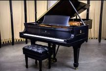 Beautiful Grand Pianos / The piano can give voice to feelings. These are just a few of the beautiful pianos we have rebuilt and worked on over the years. For More: ChuppsPianos.com.