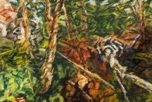 Sean Rudman / Anglais d'origine, né à Cork en Irlande, c'est dans la belle région de Saint-Maurice au Québec que Sean Rudman a choisi de s'établir en 1979 après des études en art à Londres ainsi qu'à l'Académie de Port-Royal de Paris. Reconnu tant pour ses explorations en peinture qu'en la gravure, ses oeuvres font partie de nombreuses collections privées et publiques.