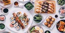 a s i a n   d i s h e s / Delicious Asian food & dishes including Japanese, Korean and Chinese cusine.   asian food | asian dishes | korean cuisine | japanese cuisine | chinese cusine | thai cusine | taiwanese cuisine | Indian cuisine | matcha | green tea | seaweed | ramen | sushi | rice dishes