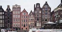 b e n e l u x / Travel board - Benelux countries: Netherland, Belgium & Luxembourg