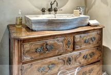 Vintage Farm Bath