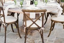 Tablescape / by Leigh Pearce Weddings