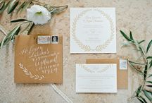 Paper / Invites, programs, menu cards.. oh my! / by Leigh Pearce Weddings