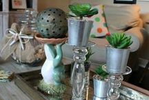 Decorating Inspiration / Inspiration for creating a home & garden in our own fresh style.
