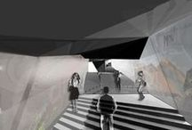 Stylish Images of Architecture / 3D renders and images of past projects of mine, or other's. / by Tiffany Apostolou