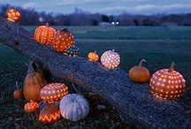 Holiday: Fall Season / Halloween ideas. Changing of colors. Thanksgiving flare.