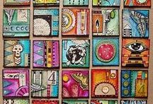 Art journal / Art journal, mixed media, altered projects