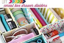 Organize It! / Organizing ideas around the house, office, craft room