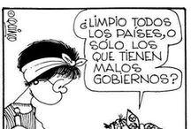 Collecting Mafalda Thoughts / Col.leccionant els pensaments de Mafalda / by Lafarguita