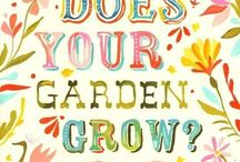 How Does Your Garden Grow / by ᏋᏝᏋᏁᎥ