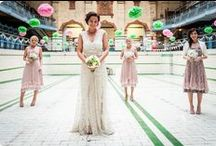 offbeat weddings inspiration / Inspiration for brides that think outside the box - unusual and quirky weddings