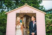 pink wedding lookbook / inspiration for weddings with a pink colour scheme