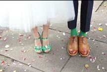 green wedding lookbook / Inspiration for weddings with a green colour scheme