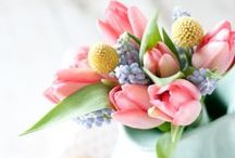 spring wedding ideas / inspiration for pretty spring weddings