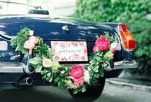 get me to the church on time / wedding transport ideas