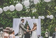 outdoor weddings inspiration / outdoor wedding inspirations for those wanting to celebrate their big day in the open air