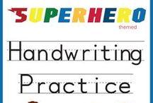 Handwriting Practice / Handwriting practice worksheets and workbooks for preschoolers.