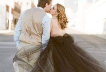black wedding lookbook