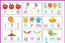 Teaching Letters / If you are looking for awesome resources to help your child learn their letters? Well, you've come to the right spot!!  From, activities, crafts, worksheets, and overall tips you can find it all right here.