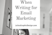 Julie's Graphic Design Blog / My blog directed to helping businesses with their brand, design, marketing, email, logo, and print.