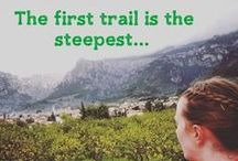 Trail Running / Running through some of the world's most fantastic scenery. Get outside. Get dirty. Get running.