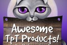 Awesome TpT Products! / Amazing products created by teacherpreneurs from Teachers Pay Teachers. You are welcome to collaborate on this board with pins of your products. Email me at catcarolines@gmail.com Happy pinning :)