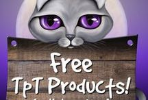 Free TpT products! / Free products from teacherpreneurs on Teachers Pay Teachers. This is a collaborative board and you are welcome to pin your free resources here. Email me at catcarolines@gmail.com Happy pinning!