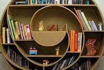 Bookshelves / by Judy Gacek