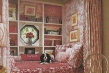 Bed Cubbys and Bunk Beds / Interesting places to sleep and/or read / by Judy Gacek