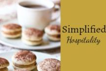 Simplified Hospitality / We can open our homes and live life as community with others. Get ideas, recipes, and tips and tricks. / by Mystie Winckler