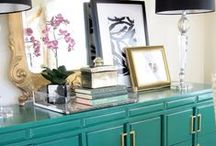 House- Interiors/Decor / by Lindsey A. Turner @ Thrift and Shout