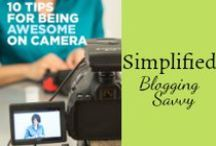 Simplified Blogging Savvy / How to keep blogging savvy and simple, with time management and productivity tips as well as online resources with tips an strategies that work. / by Mystie Winckler