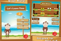 Telling Time - Learn To Tell Time / It's not just the beautiful interactive clocks that the kids will fall in love with, Chimpz - the mascot chimpanzee who accompanies them throughout the app is amazingly funny too / by Splash Math - Fun Math Practice for Kids