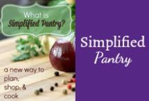 Best of Simplified Pantry / Simple Pantry Cooking at its best: recipes, tips, tricks, tutorials, tools, and more to help you enjoy your time in the kitchen and get easy, simple, real food dinners on the table. / by Mystie Winckler