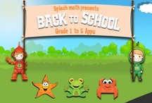 Back To School iPad app for kids / Being a Math app, it is highly engaging and fun way for the kids to learn math. With literally infinite math problems, Splash Math will last the entire school year. / by Splash Math - Fun Math Practice for Kids