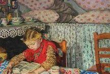 Book Art / Reading A Lost Art? / by Judy Gacek