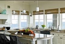 Spaces {White Kitchens}