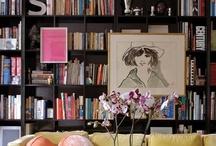 *Bookshelves*