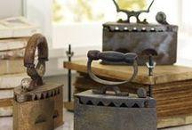 antique irons / by Marsha Rainey