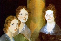BRONTË sisters's wuthering lifes / The Brontës were a nineteenth-century literary family associated with the village of Haworth in the West Riding of Yorkshire, England. The sisters, Charlotte (born 21 April 1816, in Thornton near Bradford), Emily (born 30 July 1818 in Thornton), and Anne (born 17 January 1820 in Thornton), are well known as poets and novelists. They originally published their poems and novels under masculine pseudonyms, following the custom of the times practised by female writers.