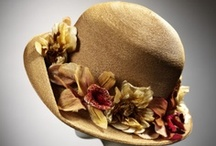 Hats, Hats, Hats! / Have always loved hats, hats of all kinds....fancy hats, old hats, new hats, warm hats, cool hats, dazzled hats, feather hats..hats, hats, and more hats!  Hat pins, Hat forms, Hat boxes. / by Terry Abuali